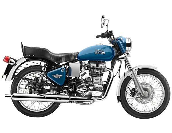 Royal enfield standard electra blue for sale at roverz motors alappuzha
