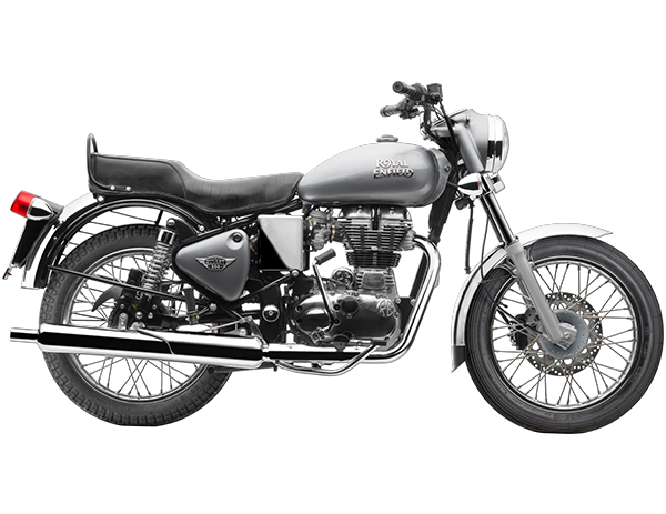 Silver Royal enfield standard chrome for sale at roverz motors