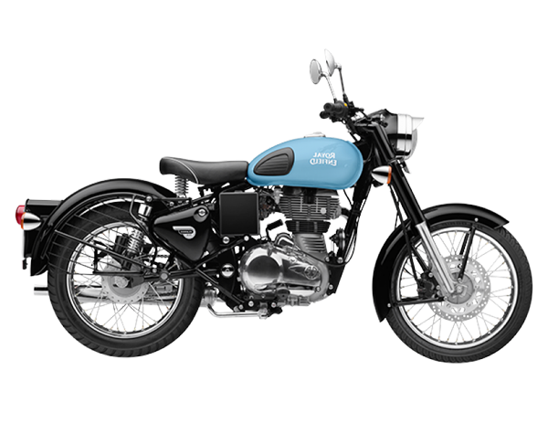 Roverz motors selling royal enfield redditch blue bikes
